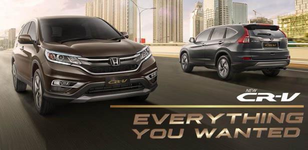 Harga Honda CR-V Balikpapan