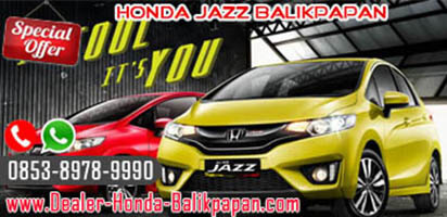 Kredit Honda Jazz Balikpapan 2018