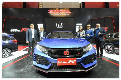 honda-civic-type-r| Honda Bawa Civic Type R Warna Biru