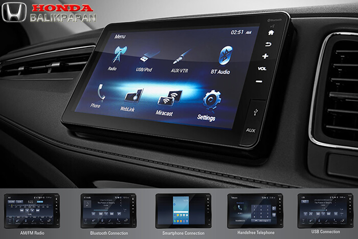 Advanced 8-inch Floating Capacitive Touchscreen Display Audio with 6 Speakers