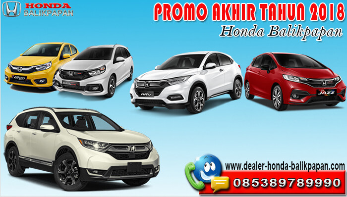 Promo Akhir Tahun 2018 Honda Balikpapan